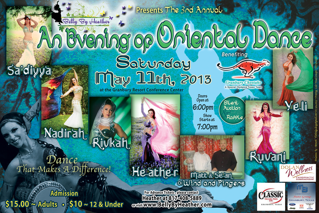 An Evening of Oriental Dance sponsored by Belly By Heather of Granbury, TX